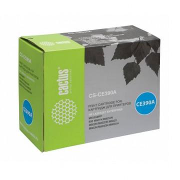 Cactus CS-CE390A совместимый картридж аналог HP CE390A чёрный, ресурс - 10000 страниц