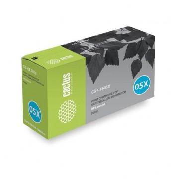 Cactus CS-CE505XS совместимый лазерный картридж 05X Black | CE505X - черный, 6500 стр