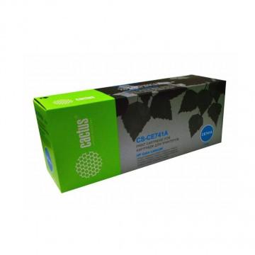 Cactus CS-CE741AV совместимый лазерный картридж 307A Cyan | CE741A - голубой , 7300 стр