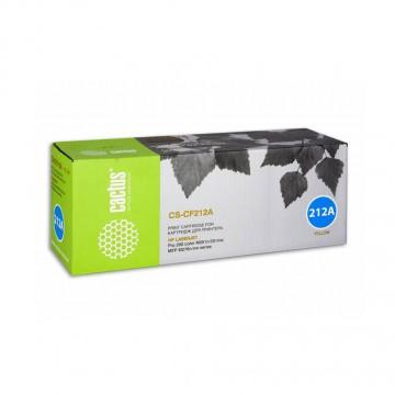 Cactus CS-CF212A совместимый лазерный картридж 131A Yellow | CF212A - желтый, 1800 стр