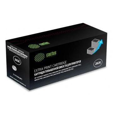 Cactus CS-CF226X-MPS совместимый лазерный картридж 26X Black | CF226X - черный, 12000 стр