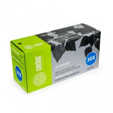 Cactus CS-CF330XV совместимый лазерный картридж 654X Black | CF330X - черный, 20500 стр