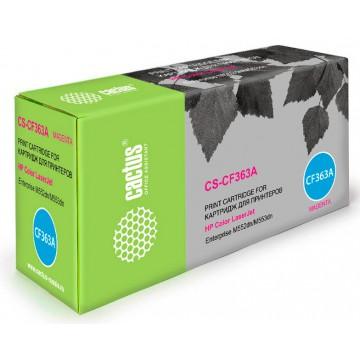 Cactus CS-CF363A совместимый лазерный картридж 508A Magenta | CF363A - пурпурный, 5000 стр