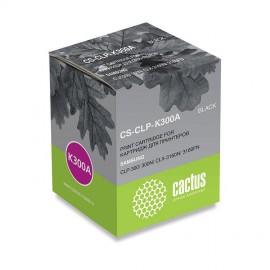 Cactus CS-CLP-K300A совместимый картридж аналог Samsung CLP-K300A чёрный, ресурс - 2000 страниц