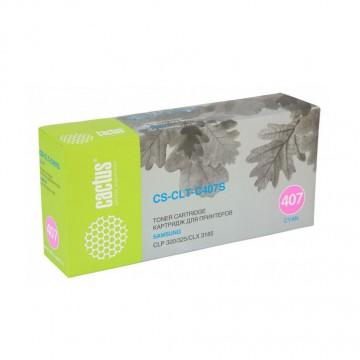 Cactus CS-CLT-C407S совместимый картридж аналог Samsung CLT-C407S голубой