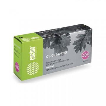 Cactus CS-CLT-K409S совместимый картридж аналог Samsung CLT-K409S чёрный, ресурс - 1500 страниц