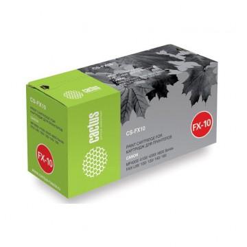 Cactus CS-FX10S совместимый лазерный картридж FX-10 | 0263B002 - черный, 2000 стр