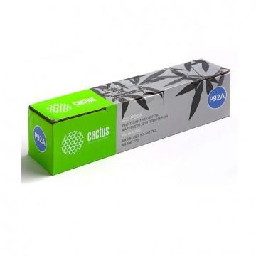 Cactus CS-P92A совместимый тонер картридж KX-FAT92A - черный, 2000 стр