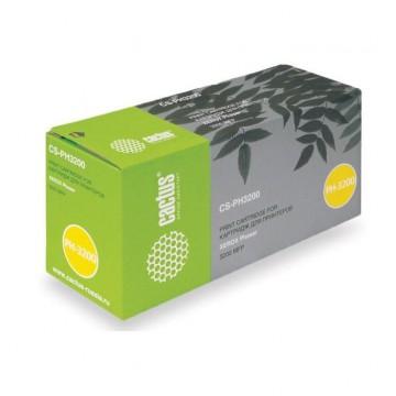 Cactus CS-PH3200 совместимый тонер картридж 113R00730 Toner Black - черный, 3000 стр