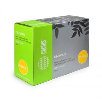 Cactus CS-PH3428 совместимый тонер картридж 106R01245 Toner Black - черный, 4000 стр