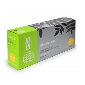 Cactus CS-PH6121B совместимый тонер картридж 106R01476 Toner Black - черный, 2500 стр