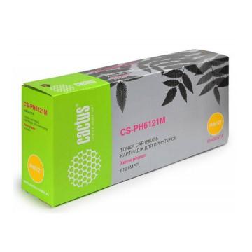 Cactus CS-PH6121M совместимый тонер картридж 106R01474 Toner Magenta - пурпурный, 2500 стр