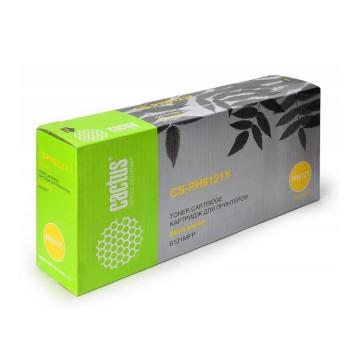 Cactus CS-PH6121Y совместимый тонер картридж 106R01475 Toner Yellow - желтый, 2500 стр