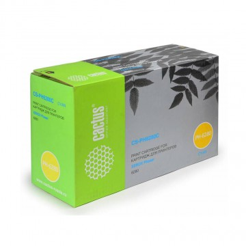 Cactus CS-PH6280C совместимый тонер картридж 106R01400 Toner Cyan - голубой, 5900 стр