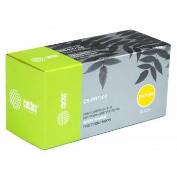 Cactus CS-PH7100BK совместимый тонер картридж 106R02612 Toner Black - черный, 5000 стр