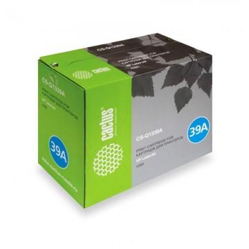 Cactus CS-Q1339AR совместимый лазерный картридж 39A Black | Q1339A - черный, 18000 стр