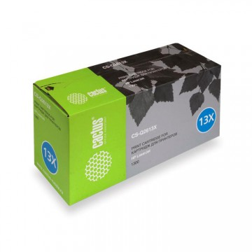 Cactus CS-Q2613X совместимый картридж аналог HP Q2613X чёрный, ресурс - 4000 страниц