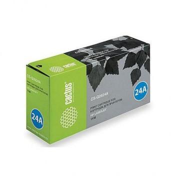 Cactus CS-Q2624A совместимый лазерный картридж 24A Black | Q2624A - черный, 2500 стр