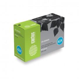 42X Black | Q5942X (картридж Cactus CS) лазерный картридж - 20000 стр, черный