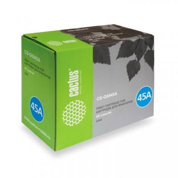 Cactus CS-Q5945A совместимый лазерный картридж 45A Black | Q5945A - черный, 18000 стр