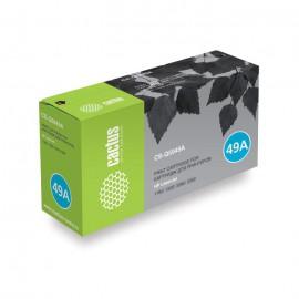 49A Black   Q5949A (Cactus) лазерный картридж - 2500 стр, черный