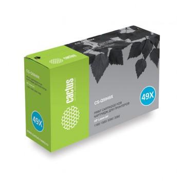 Cactus CS-Q5949X совместимый картридж аналог HP Q5949X чёрный, ресурс - 6000 страниц