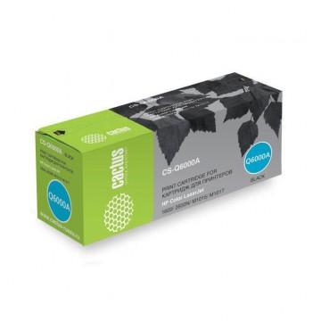 Cactus CS-Q6000A совместимый лазерный картридж 124A Black | Q6000A - черный, 2500 стр