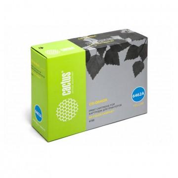 Cactus CS-Q6462AR совместимый лазерный картридж 644A Yellow | Q6462A - желтый, 12000 стр