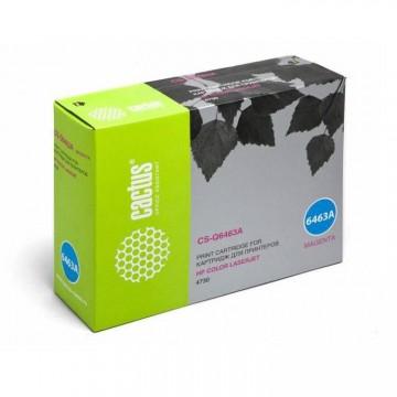 Cactus CS-Q6463AR совместимый лазерный картридж 644A Magenta | Q6463A - пурпурный, 12000 стр