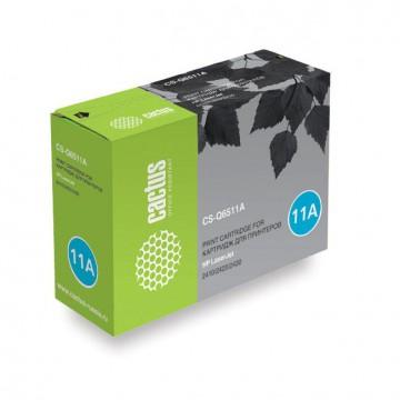 Cactus CS-Q6511A совместимый картридж аналог HP Q6511A чёрный, ресурс - 6000 страниц