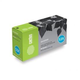 53X Black | Q7553X (Cactus) лазерный картридж - 7000 стр, черный