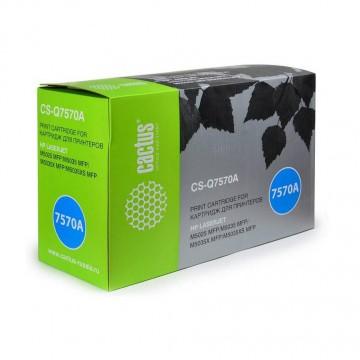 Cactus CS-Q7570A совместимый картридж аналог HP Q7570A чёрный, ресурс - 15000 страниц