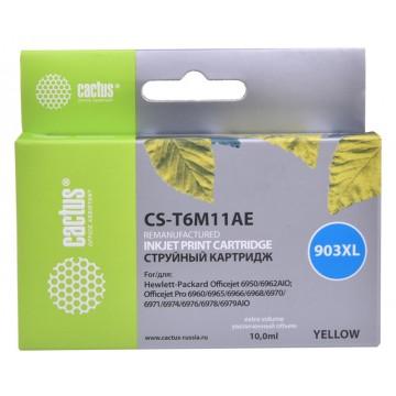 CS-T6M11AE струйный картридж Cactus 903 XL Yellow | T6M11AE, 10 мл, желтый
