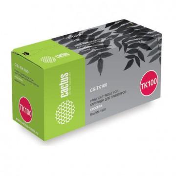 Cactus CS-TK100 совместимый картридж аналог Kyocera TK-100 чёрный, ресурс - 6000 страниц