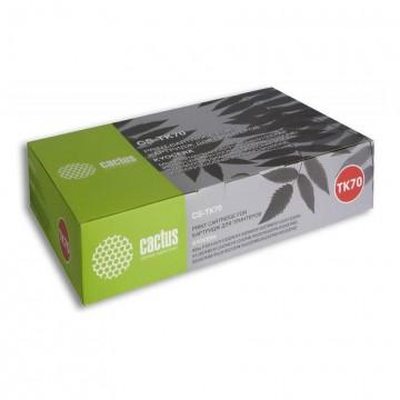 Cactus CS-TK70 совместимый тонер картридж TK-70 | 30370AC010 - черный, 40000 стр