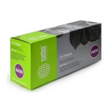 Cactus CS-TN6600 совместимый тонер картридж TN-6600 - черный, 6000 стр