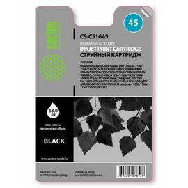 Cactus CS-51645 №45 cтруйный картридж аналог HP 51645AE черный