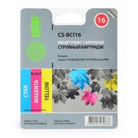 Cactus CS-BCI16 cтруйный картридж аналог Canon BCI-16 цветной (3-х цветный)