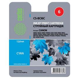 Cactus CS-BCI6C cтруйный картридж аналог Canon BCI-6C голубой