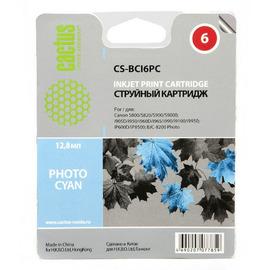 Cactus CS-BCI6PC cтруйный картридж аналог Canon BCI-6PC светло-голубой