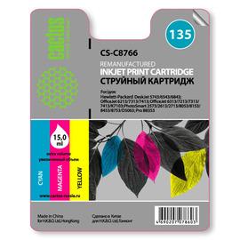 135 Color | C8766HE (Cactus) струйный картридж - 18 мл, цветной