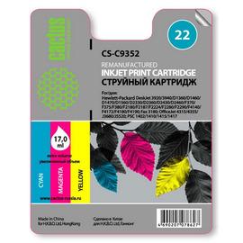 22 XL Color | C9352CE (Cactus) струйный картридж - 21 мл, цветной
