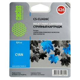 CS-CLI426C струйный картридж Cactus CLI-426C | 4557B001, 8.2 мл, голубой