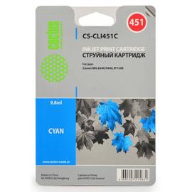 CLI-451C | 6524B001 (Cactus) струйный картридж - 9,8 мл, голубой