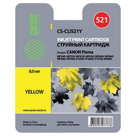 CLI-521Y | 2936B004 (Cactus) струйный картридж - 8,2 мл, желтый
