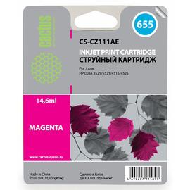 655 Magenta | CZ111AE (Cactus) струйный картридж - 14,6 мл, пурпурный