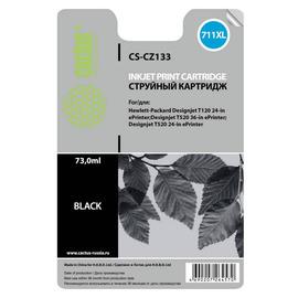 CS-CZ133 струйный картридж Cactus 711 Black | CZ133A, 73 мл, черный