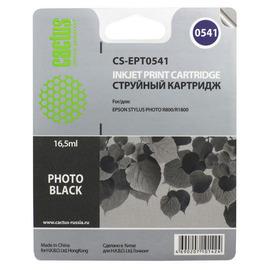 CS-EPT0541 струйный картридж Cactus T0541 Photo black | C13T05414010, 16.2 мл, черный