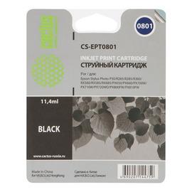 T0801 Black   C13T08014011 (Cactus) струйный картридж - 11,4 мл, черный