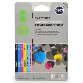 T079A Multipack   C13T079A4A10 (Cactus) струйный картридж - 11,4 мл, набор цветной + черный